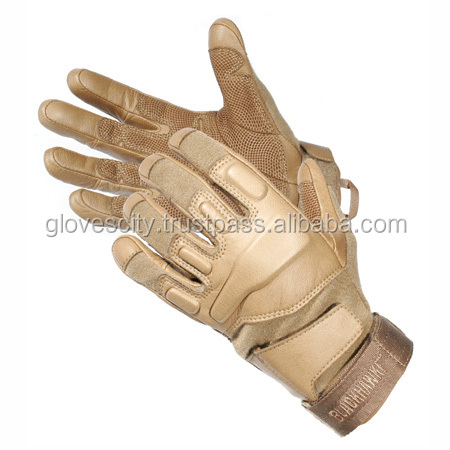 Kevlar Police Tactical Gloves With Pittard Leather Pam /Aramid Force Tactical Gloves / Aramid Police Tactical Gloves