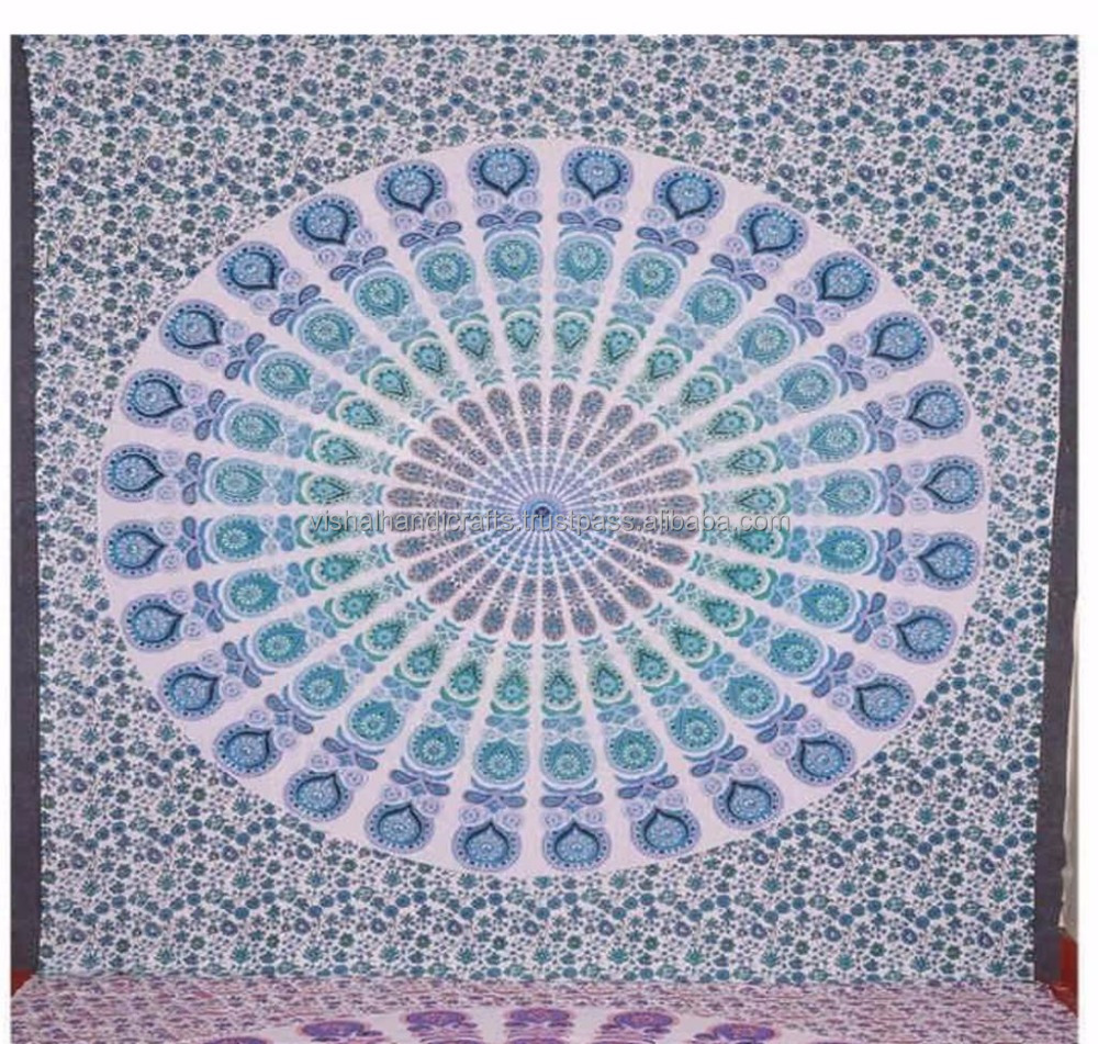 Best Quality 100% cotton Mandala Tapestry Boho Tapestries.