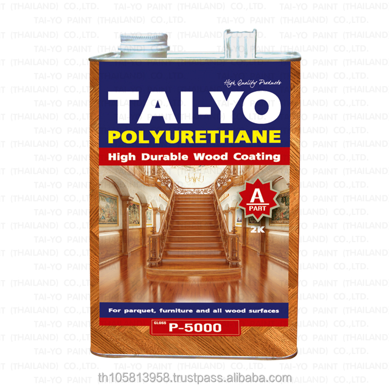 TAI-YO POLYURETHANE HI-GLOSS Sealer for Building&Furniture Decorative Coating Paint