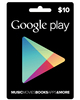GOOGLE PLAY CARDS $100 , GOOGLE GIFT CARDS USD100