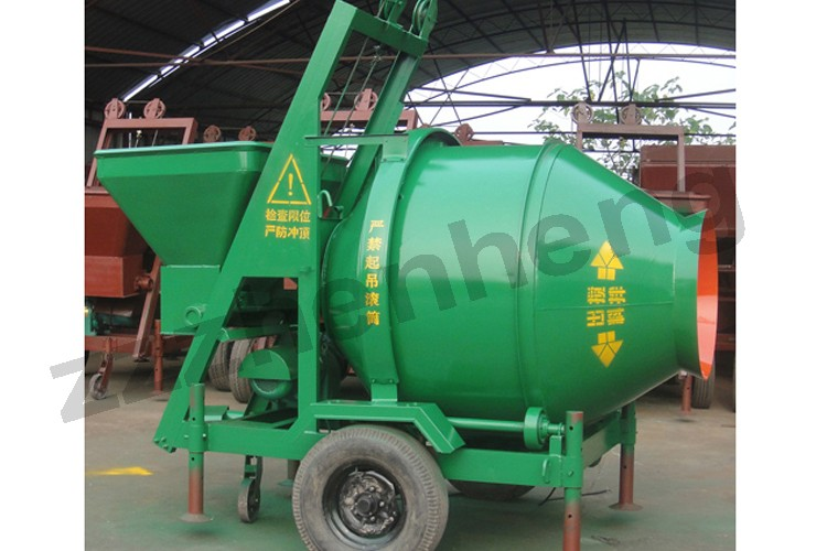 18-20m3/h Productivity JZCP500 Electric Mechanical Stainless Steel Concrete Mixer for Sale