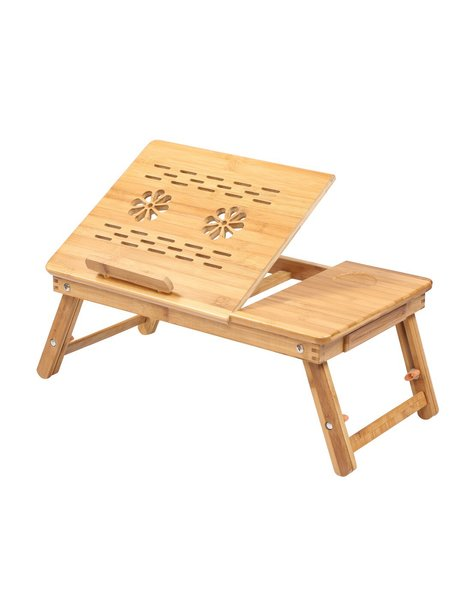 2017 eco friendly wooden laptop bed computer table