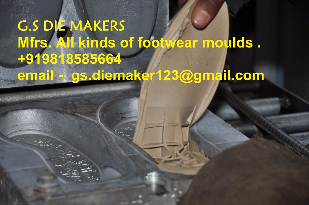 RUBBER SOLE MOLDS