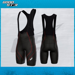 GS Men Cycling Bib Short CoolMax Padded Lycra Sport OEM Custom Bibs