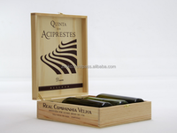Wooden wine boxes gift package, plywood, MDF veneer, paint, high quality, customer production is available