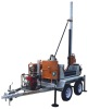 Water Well Drilling Rig, Trailer Mounted Drilling Rig, Drilling rig