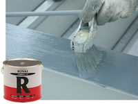 High quality non corrosive metals paint for industrial use , Silver color also available