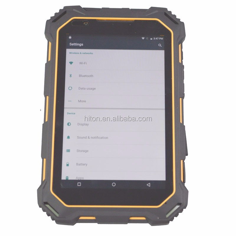 MIL-STD-810g Standard 8 inch IP68 Android 5.1 Tablet with MTK6735 Quad core 4G GPS RFID NFC 2D Barcode Reader Tablet