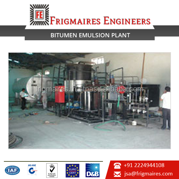 Savings in Power, User and Environment Friendly Asphalt Making Plant