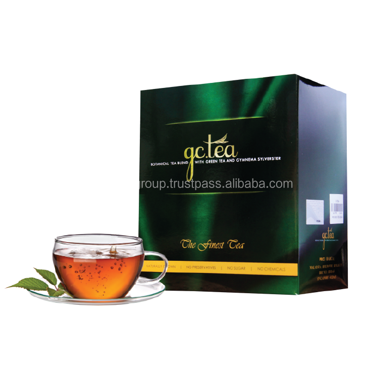 GC TEA Organic and Herbal Green Tea