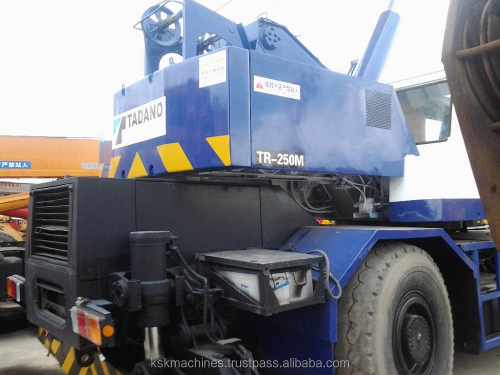 Tadano rough terrain crane TR-250M 25 ton for sale