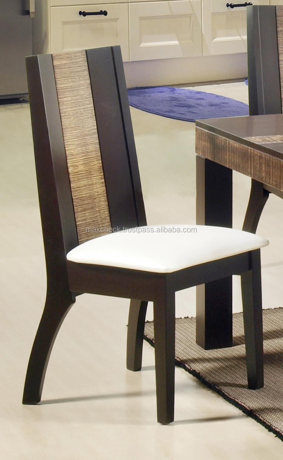 BALI rustic solid wood dining table & chairs