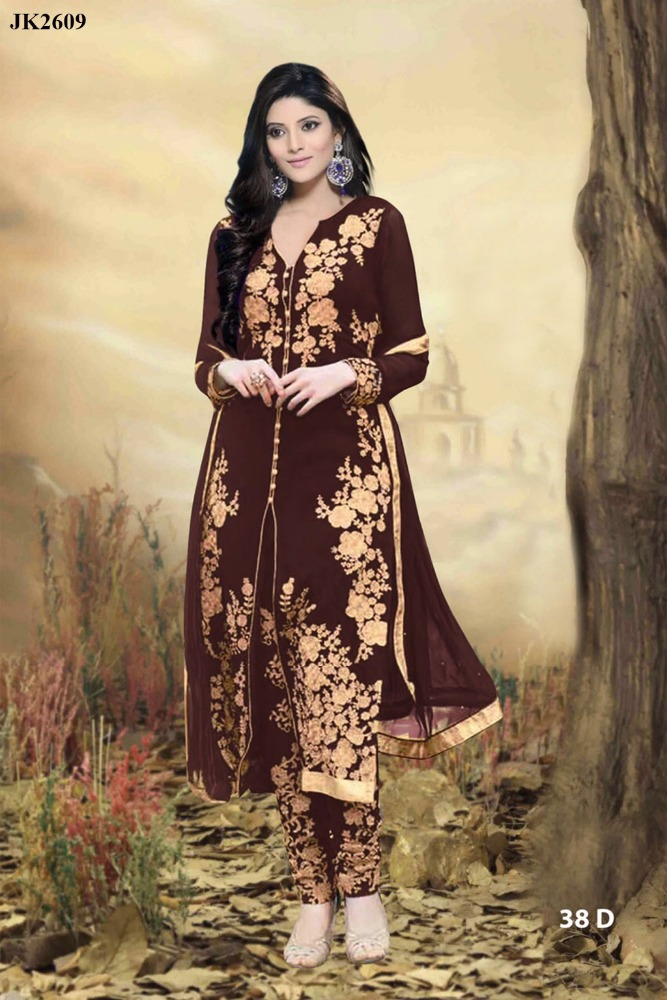 Indian Women Fancy Dress Material Salwar Suit