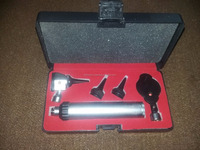Otoscope Set with Standard Light Beam The Basis Surgical instruments