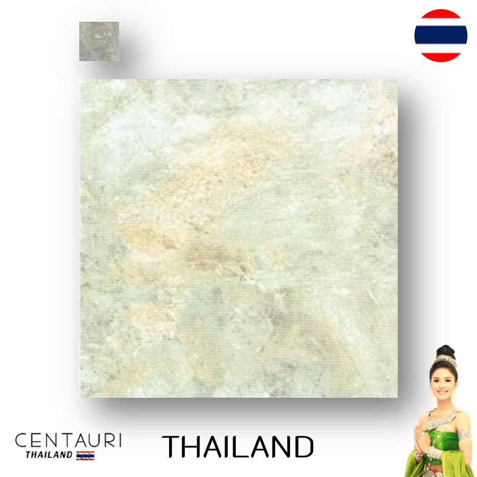 matt 600*600 mm new white grey supergrey marble pattern design Thai porcelain interior tile and tile from Thailand