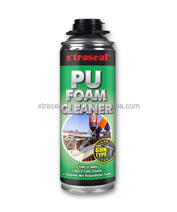 PU Foam Gun Type Cleaner