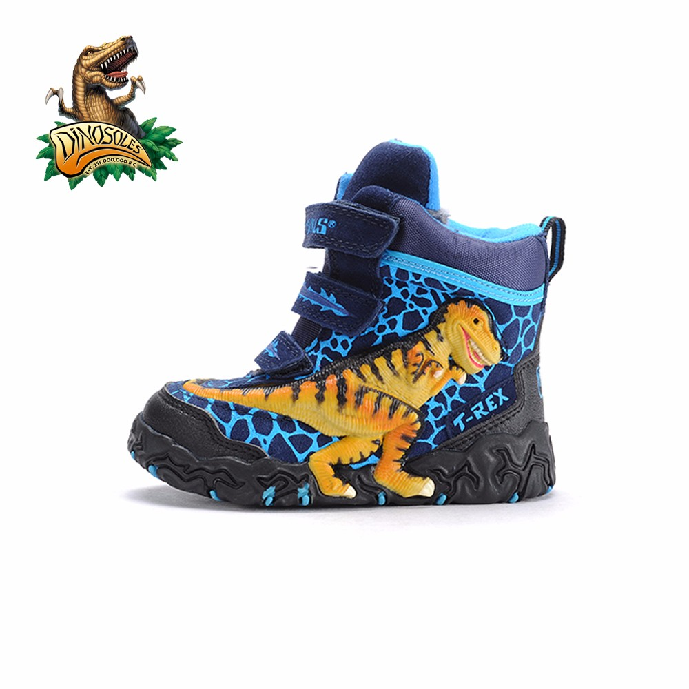 Dinosoles 3D T-Rex Dinosaur Hi-Top Winter Boots (Children/Todder/Little Kids)