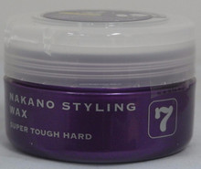 Styling Wax 7 Super tough Hard 90g is wax hair care import from japan.