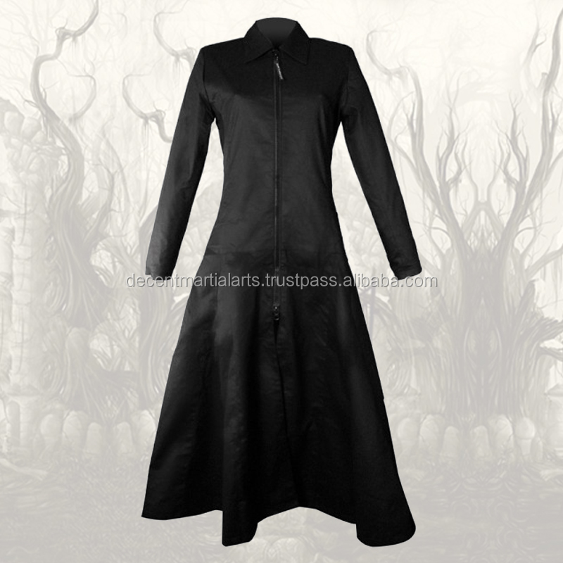 Laides Princes Venus Long Zipper Gothic Fashion Coat