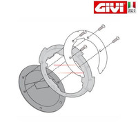 GIVI BF05 Specific flange for fitting the Tanklock tank bags GIVI