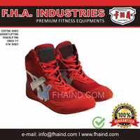 Weightlifting shoes / custom Gym Bodybuilding Wrestling Boxing Cross Fit Shoes By FHA INDUSTRIES SIALKOT PAKISTAN
