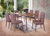 OAKLAND TABLE WITH SUDOKU CHAIR, DINING TABLE SET,DINING TABLE AND CHAIRS
