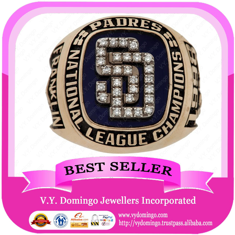 1998 PADRES NATIONAL LEAGUE CHAMPIONSHIP RING