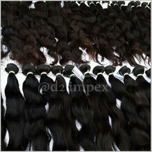 100 Gram Pack Indian Brazilian Wet and Wavy Bulk Hair