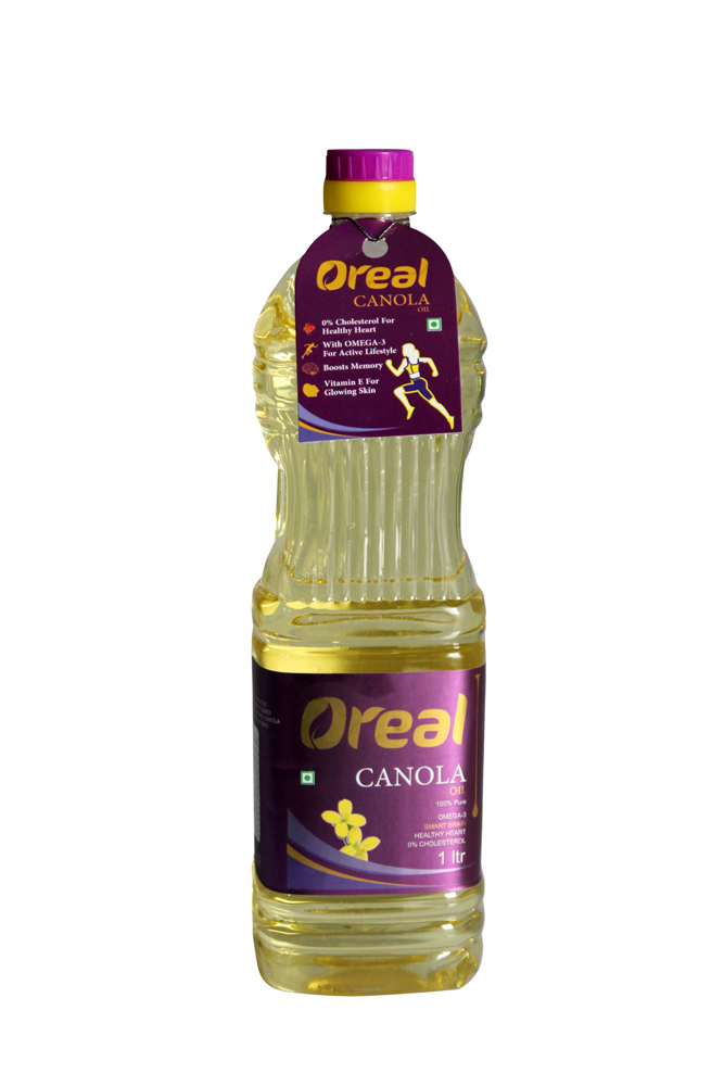 OREAL CANOLA OIL 1LTR (PACK OF 12)