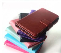 Book Style Wallet Cases With Card Slot PU Leather Flip Phone Case For Samsung Iphone