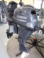 FREE SHIPPING FOR USED YAMAHA 15 HP 4 STROKE OUTBOARD MOTOR