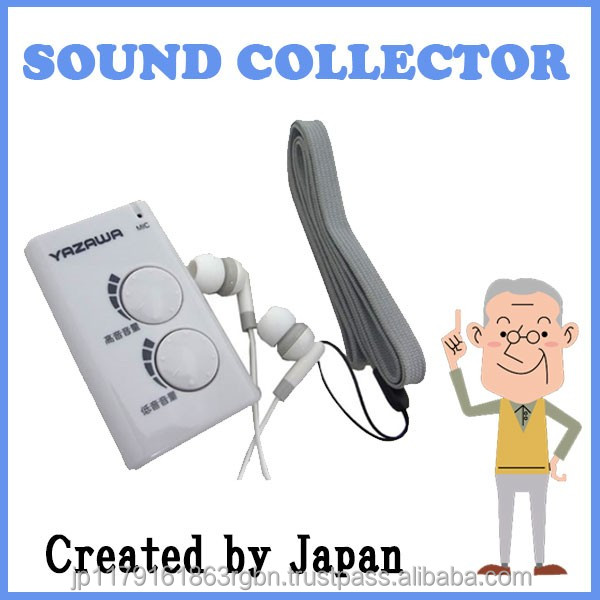 Functional and Portable sound collector device with earphone and neck strap at reasonable price