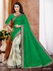 Faux Chiffon Lace Work Casual Saree/wholesale saree/fancy saree blouse designs