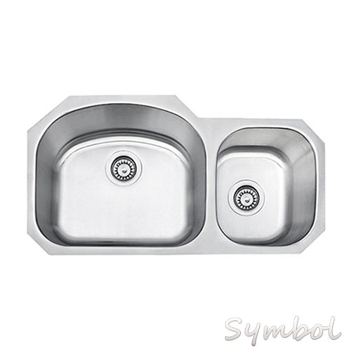 USA and CANADA hot sell cupc SS3821AL steel kitchen sink