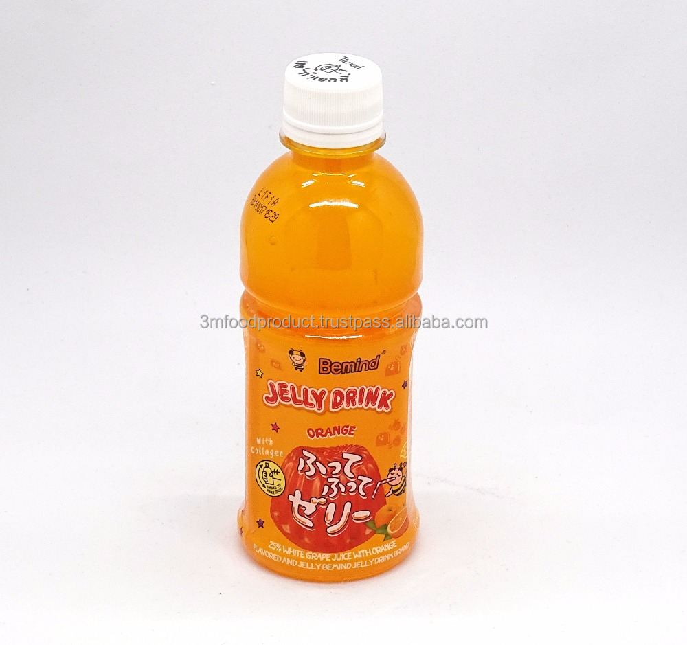 Jelly drink orange juice 25% concentrate