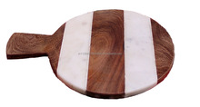 Marble Wood Cheese Board 3Xwood -TT