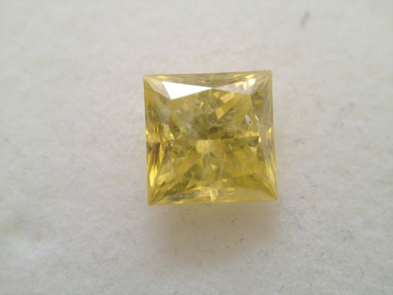 FANCY YELLOW PRINCESS CUT DIAMONDS PARCEL VVS , ALL SHAPES & SIZES !!!