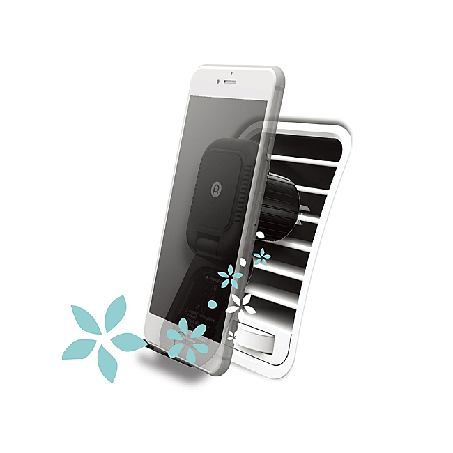 Aloy Car Air Freshener & Smart Phone Holder