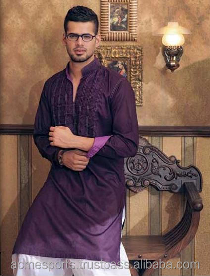 mens kurta - Designer Printed Men's Cotton Kurtas