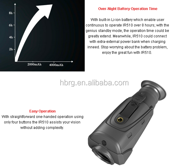 Guide Infrared Handheld Thermal Monocular