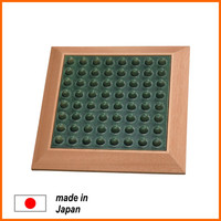 Japanese reflexology foot massage carpet , pottery goods also available