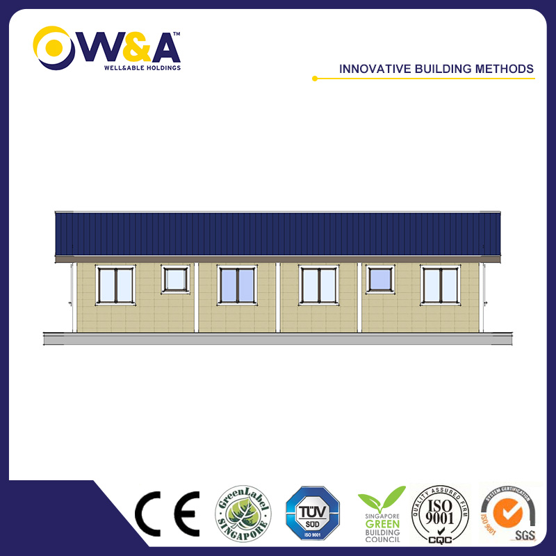 (WAS1507-63D)Steel Prefabricated Residential Houses With Factory Ce Certification