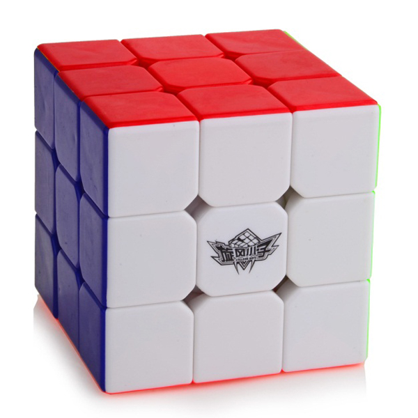 Cyclone Boys cube 3x3x3 stickerless Magic Cube Colored Educational Toy ...
