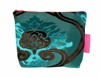 Tretchikoff Velvet Lotus Cosmetic Bag (Two-Tone)
