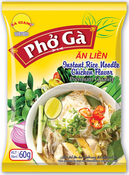 Chicken Flavor Instant Rice Noodles 60gr- Sa Giang