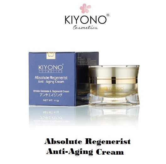 "Anti Aging Anti Wrinkle Face Whitening Cream ""Kiyono Brand"" Product of Thailand with Japan formula"