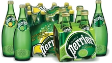 Perrier Sparkling Natural Mineral Water And Other Flavours