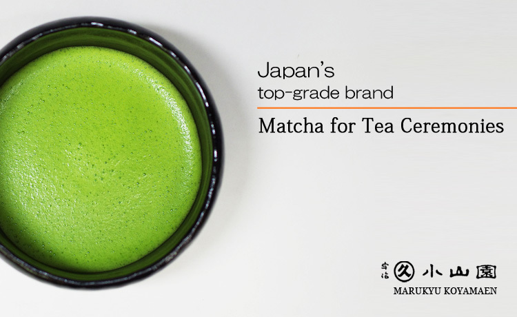 High quality delicious matcha green tea powder made in Japan