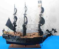 Wooden boat model - Pirate Ship (Black Pearl)