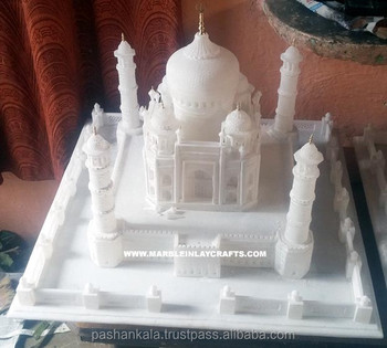 Marble Big Taj Mahal Model, White Taj Mahal